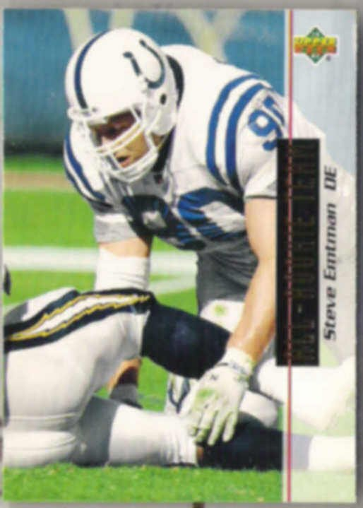 STEVE EMTMAN 1993 Upper Deck ART #43.  COLTS