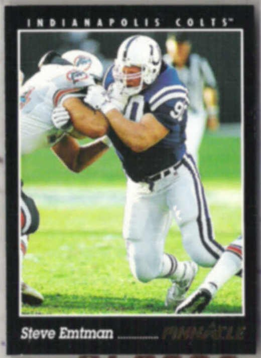 STEVE EMTMAN 1993 Pinnacle #288.  COLTS