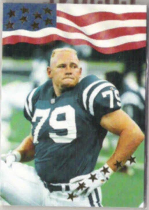STEVE EMTMAN 1992 AW Sports Rookie #13.  COLTS