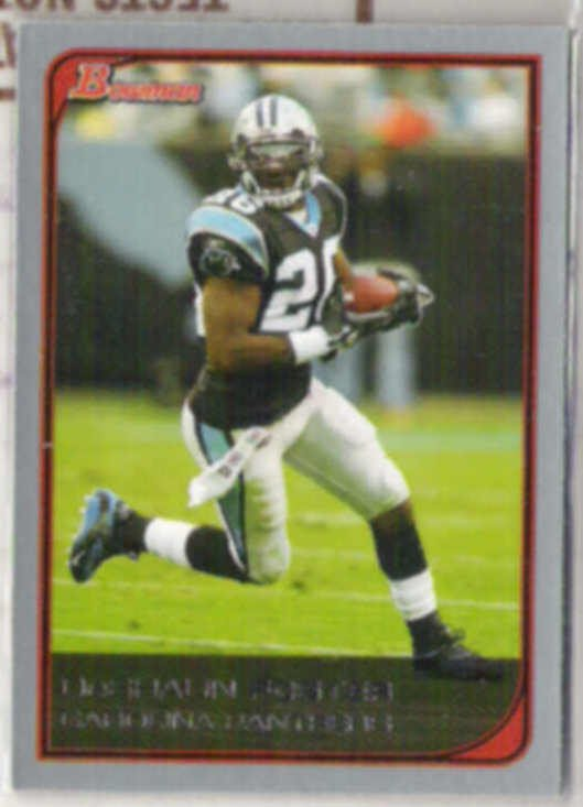 DESHAUN FOSTER 2006 Bowman #31.  PANTHERS