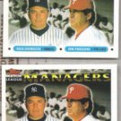 BUCK SHOWALTER (2) 1993 Topps #510.  YANKEES