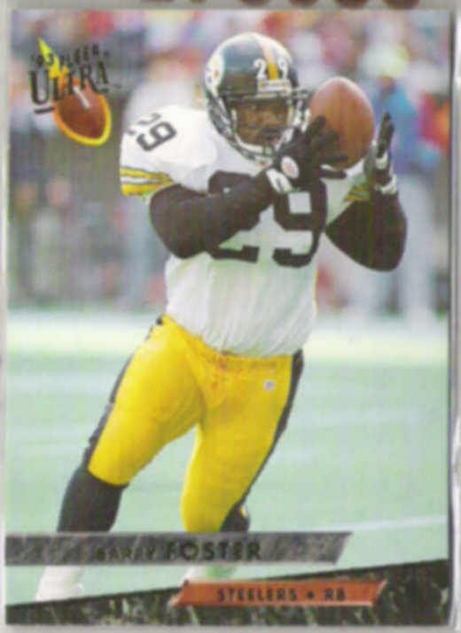 BARRY FOSTER 1993 Fleer Ultra #393.  STEELERS