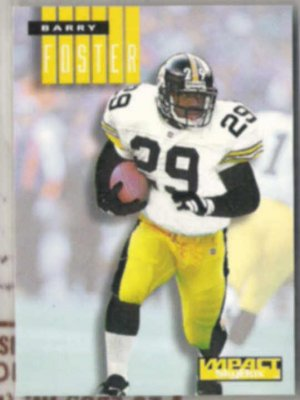 BARRY FOSTER 1994 Skybox Impact #214.  STEELERS