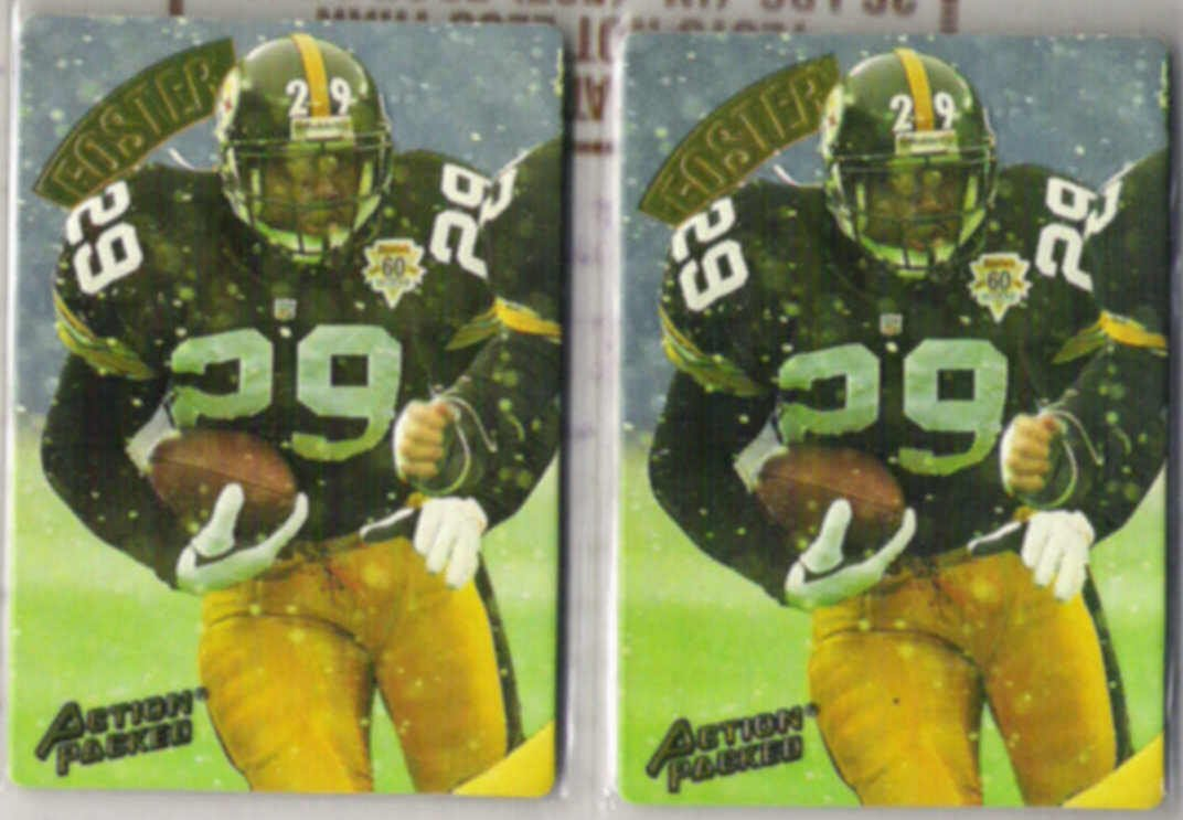 BARRY FOSTER (2) 1994 Action Packed #95.  STEELERS