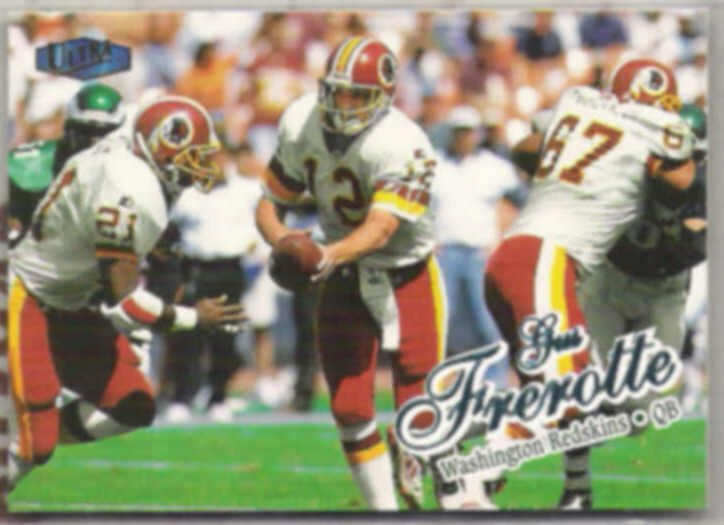 GUS FREROTTE 1998 Fleer Ultra #150.  REDSKINS