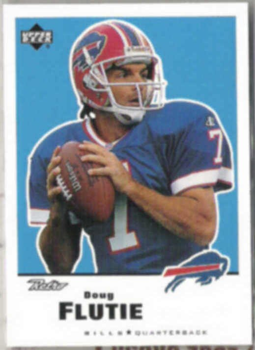 DOUG FLUTIE 1999 Upper Deck Retro #17.  BILLS