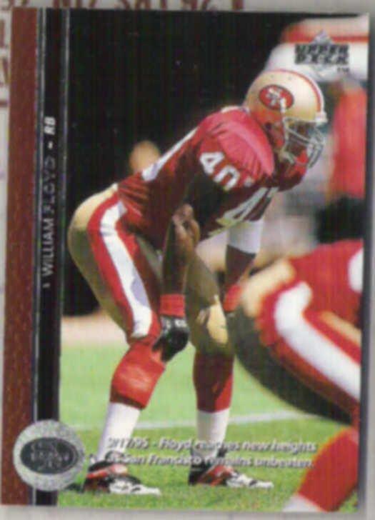 WILLIAM FLOYD 1996 Upper Deck #41.  49ers