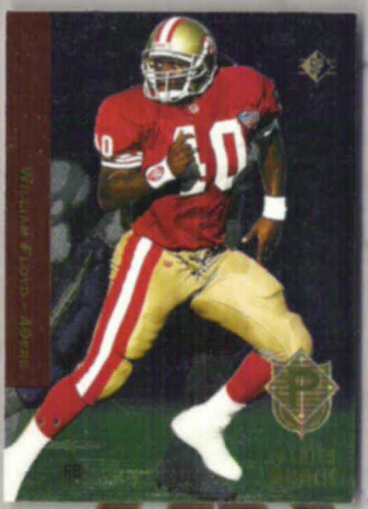 WILLIAM FLOYD 1994 Upper Deck SP Prospects Foil #14.  49ers
