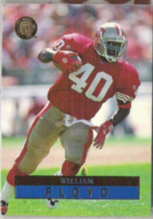 WILLIAM FLOYD 1996 Fleer Ultra #141.  49ers
