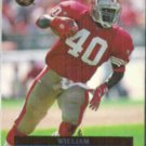 WILLIAM FLOYD 1996 Fleer Ultra #141.  49ers