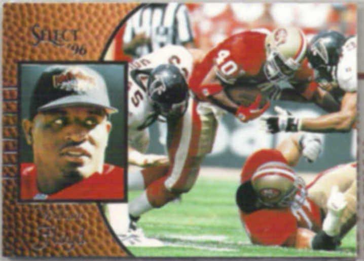 WILLIAM FLOYD 1996 Score Select #75.  49ers