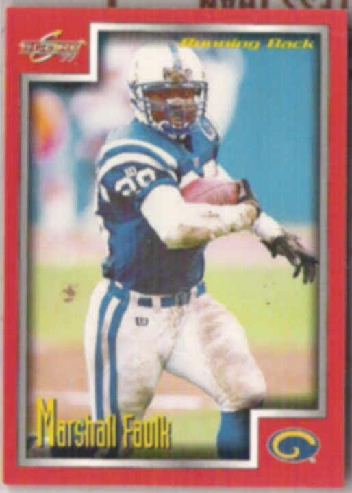 MARSHALL FAULK 1999 Score #171.  RAMS