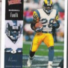MARSHALL FAULK 2000 UD Victory #148.  RAMS