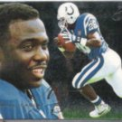 MARSHALL FAULK 1995 Flair Preview Ins. #13 of 30.  COLTS