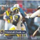 MARSHALL FAULK 2000 Skybox Impact #30.  RAMS