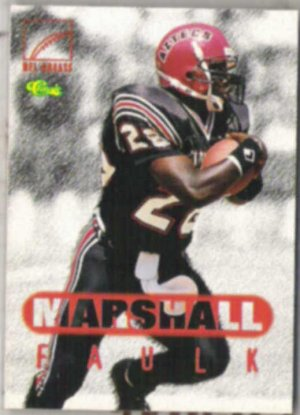 MARSHALL FAULK 1996 Classic Greats #79.  COLTS