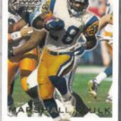 MARSHALL FAULK 2000 Fleer Focus #78.  RAMS