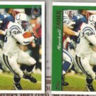 MARSHALL FAULK (2) 1997 Topps #10.  COLTS