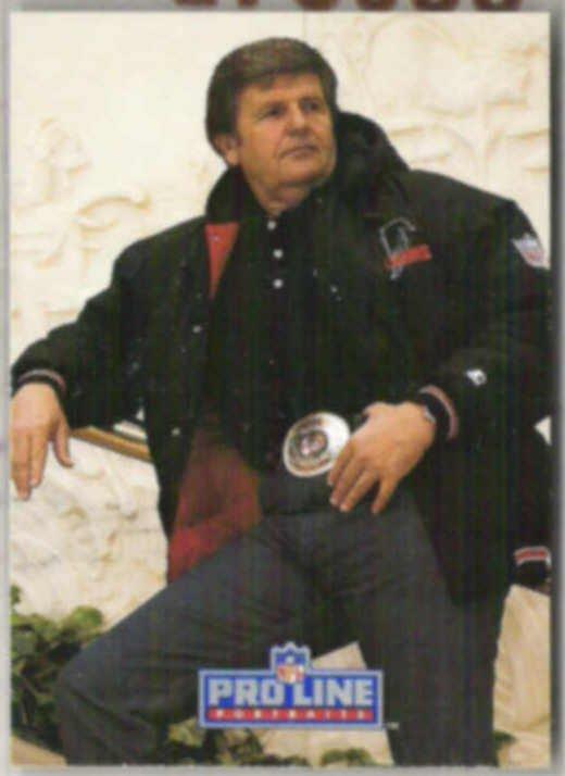 JERRY GLANVILLE 1991 Pro Line Portraits #57.  FALCONS