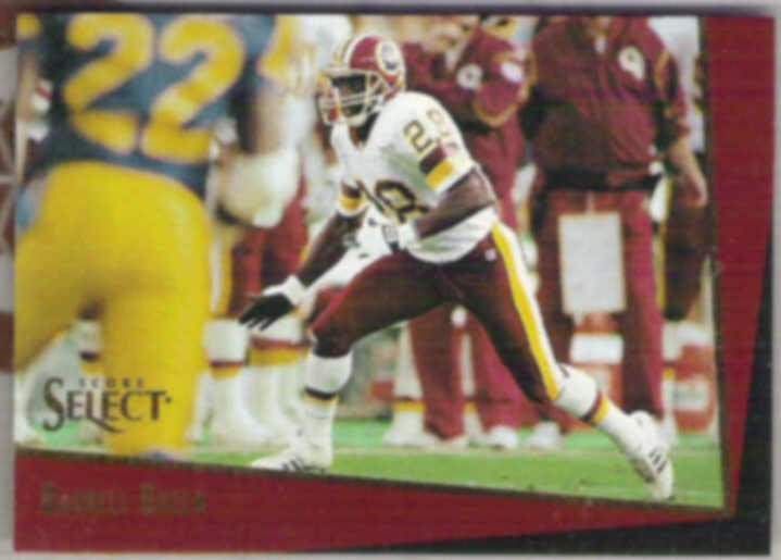 DARRELL GREEN 1993 Score Select #25.  REDSKINS