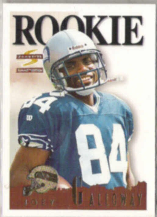 JOEY GALLOWAY 1995 Score Summit RC #168.  SEAHAWKS