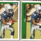 JOEY GALLOWAY (2) 1997 Topps #260.  SEAHAWKS