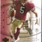 JEFF GARCIA 2001 Upper Deck Ovation #77.  49ers
