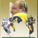 KEVIN GREENE 1991 Fleer Ultra AS Ins. #10 of 10.  RAMS