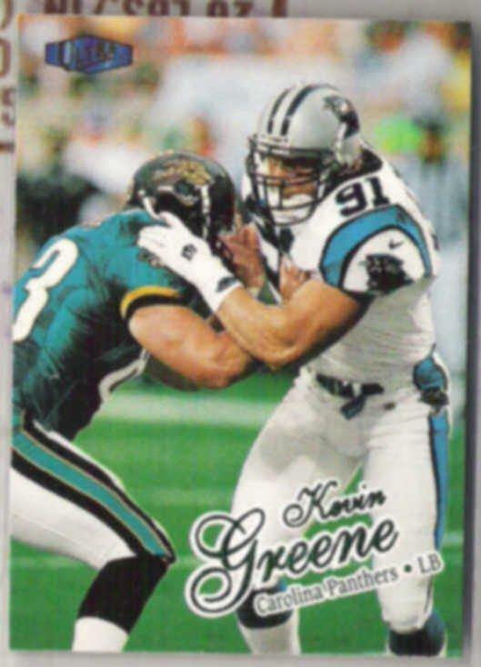 KEVIN GREENE 1998 Fleer Ultra #304.  PANTHERS