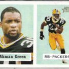 AHMAN GREEN 2002 Topps Heritage #138.  PACKERS