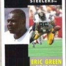 ERIC GREEN 1991 Pinnacle #86.  STEELERS
