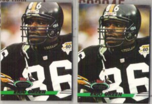ERIC GREEN (2) 1993 Stadium Club #430.  STEELERS