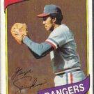 FERGIE JENKINS 1981 Topps #390.  RANGERS