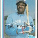 JOHN MAYBERRY 1982 Topps #470.  BLUE JAYS
