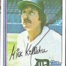 MICK KELLEHER 1982 Topps #184.  TIGERS