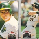 JOSE CANSECO 1992 Stadium Club + MC.  A's
