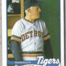 SPARKY ANDERSON 1989 Topps #21.  TIGERS