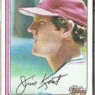 JIM KAAT 1982 Topps #367.  CARDS
