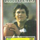 JIM PLUNKETT 1983 Topps #307.  RAIDERS
