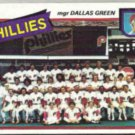 PHILADELPHIA 1980 Topps Checklist #526.  PHILLIES