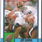JEFF GEORGE 1990 Topps Draft #298.  COLTS