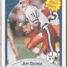 JEFF GEORGE 1990 Fleer Draft #347.  COLTS
