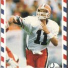 JEFF GEORGE 1990 Asher Stars / Stripes #81.  COLTS