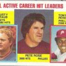 PETE ROSE 1984 Topps #702 w/ PEREZ.  PHILLIES