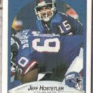 JEFF HOSTETLER 1990 Fleer #67.  GIANTS