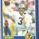 BOBBY HEBERT 1989 Score #46.  SAINTS