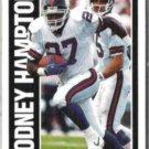 RODNEY HAMPTON 1991 Pinnacle #371.  GIANTS