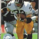 MERRIL HOGE 1991 Pro Set Platinum #98.  STEELERS