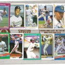 WILLIE RANDOLPH (10) Card early 90's Lot