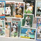 ROBBY THOMPSON (12) Card early 90's Lot